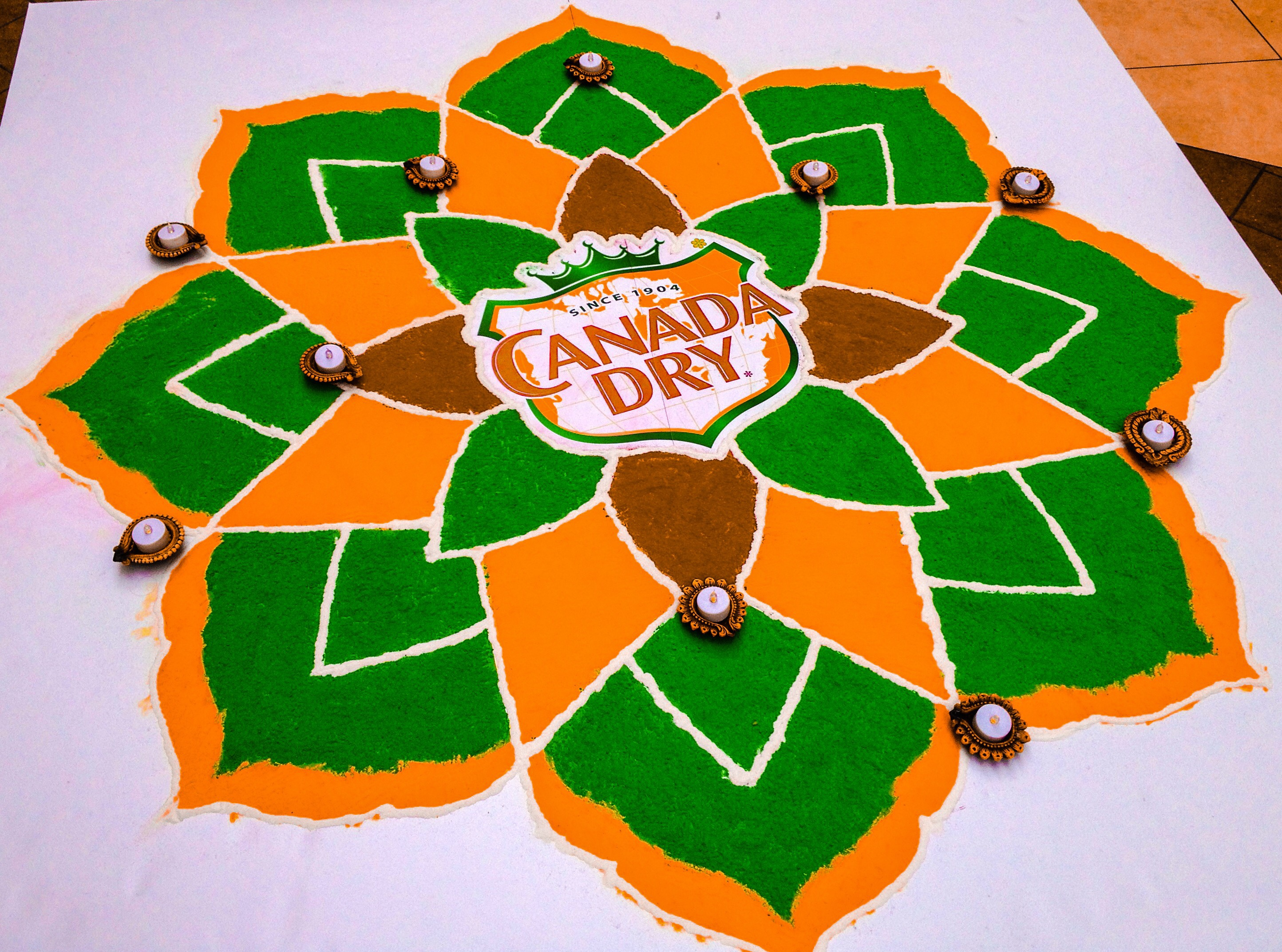 Rangoli at Bramalea City Center