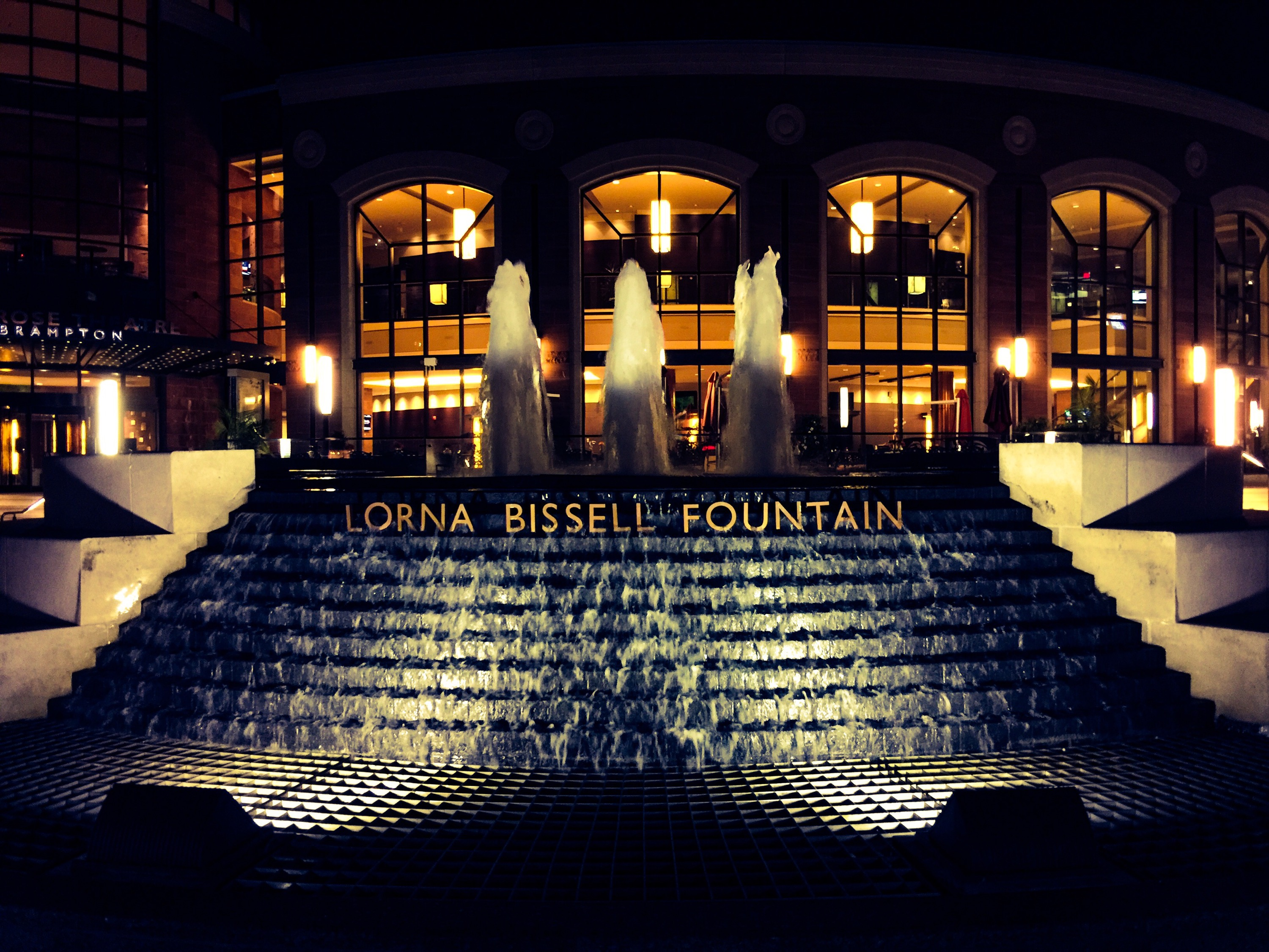 Lorna Bissell Fountain at Rose Theatre Square